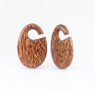 Coconut Palm Dewdrop Ear Weights
