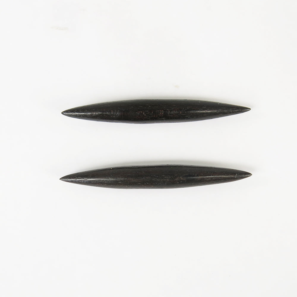 Black Wood Septum Spikes