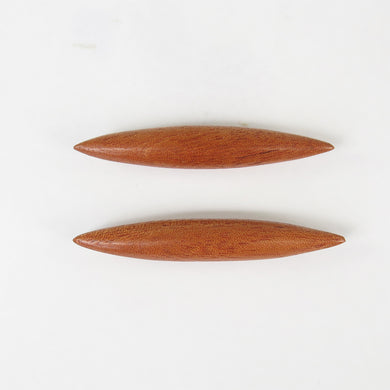 Bronze Wood Septum Spikes