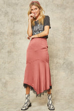 Load image into Gallery viewer, Solid Woven Midi Skirt