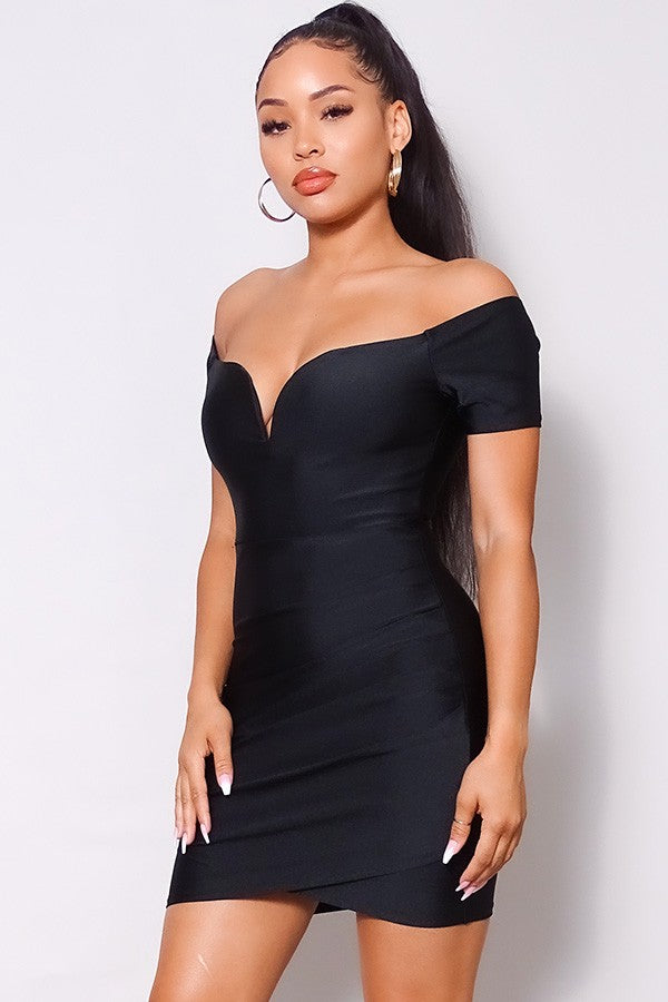Sight To See Bodycon Mini Dress