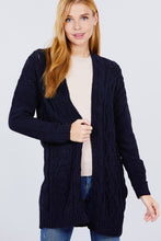Load image into Gallery viewer, Chenille Sweater Cardigan