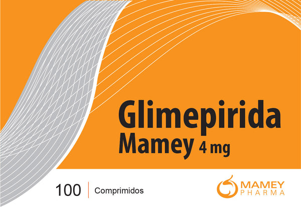 Glimepirida Mamey 4mg 100comp