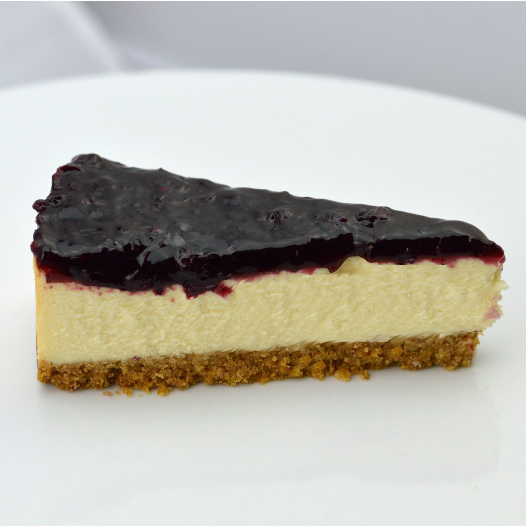 Blackcurrant Cheesecake {V}