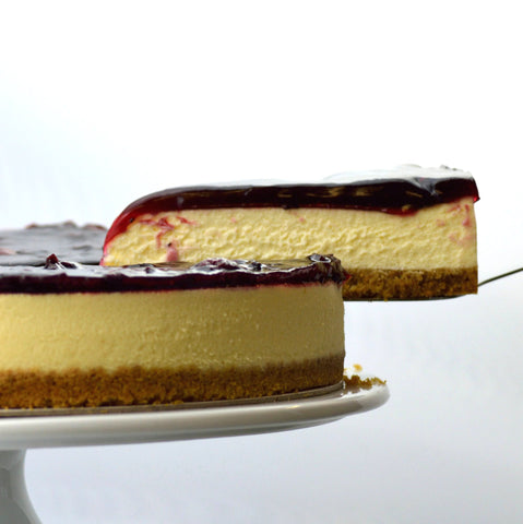 Black Cherry Cheesecake {V}