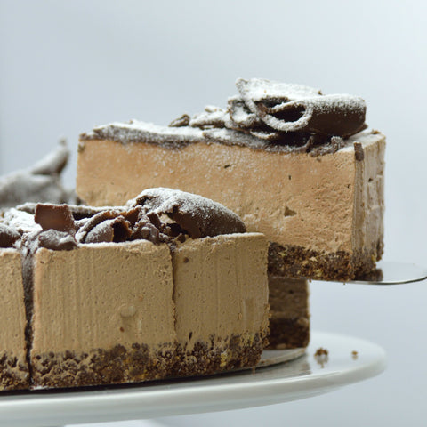 Chocolate Cheesecake - (Coldset)