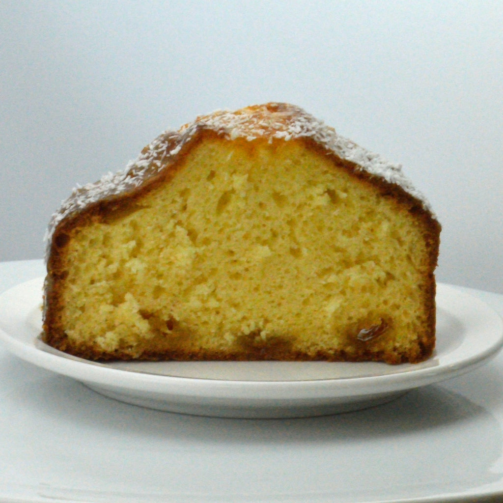 Coconut Loaf Cake {V}