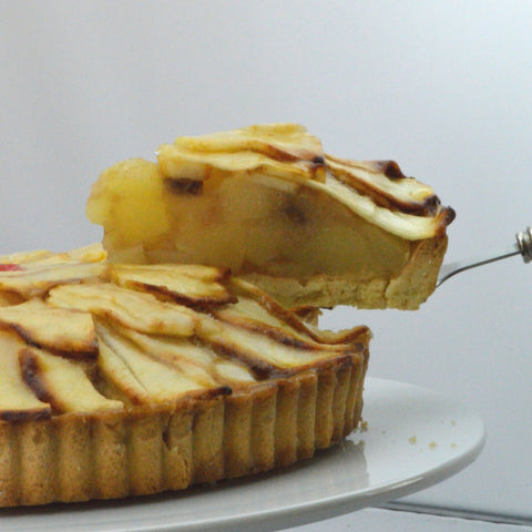 French Apple Flan {V}