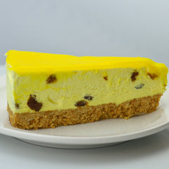 Lemon & Sultana Cheesecake (Coldset)