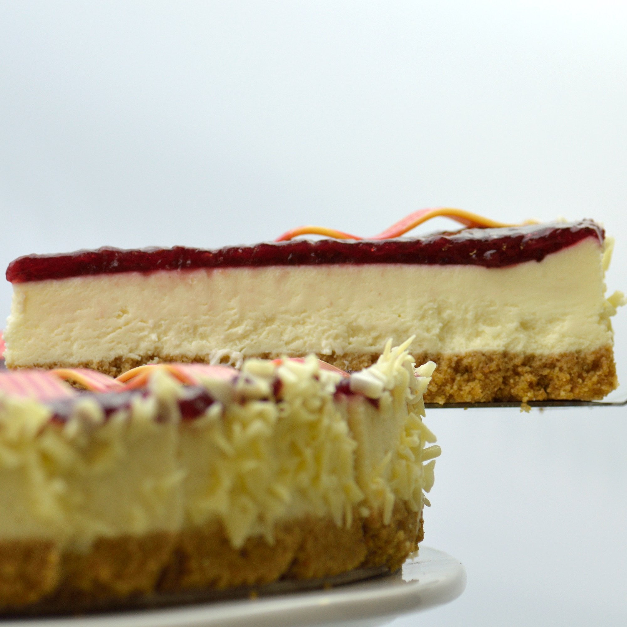 Raving Raspberry Cheesecake {V}