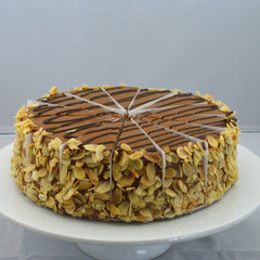 Sticky Toffee Apple Cake {V}