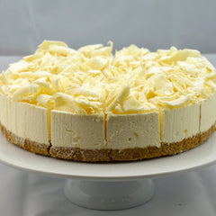 White Chocolate Cheesecake (Coldset)