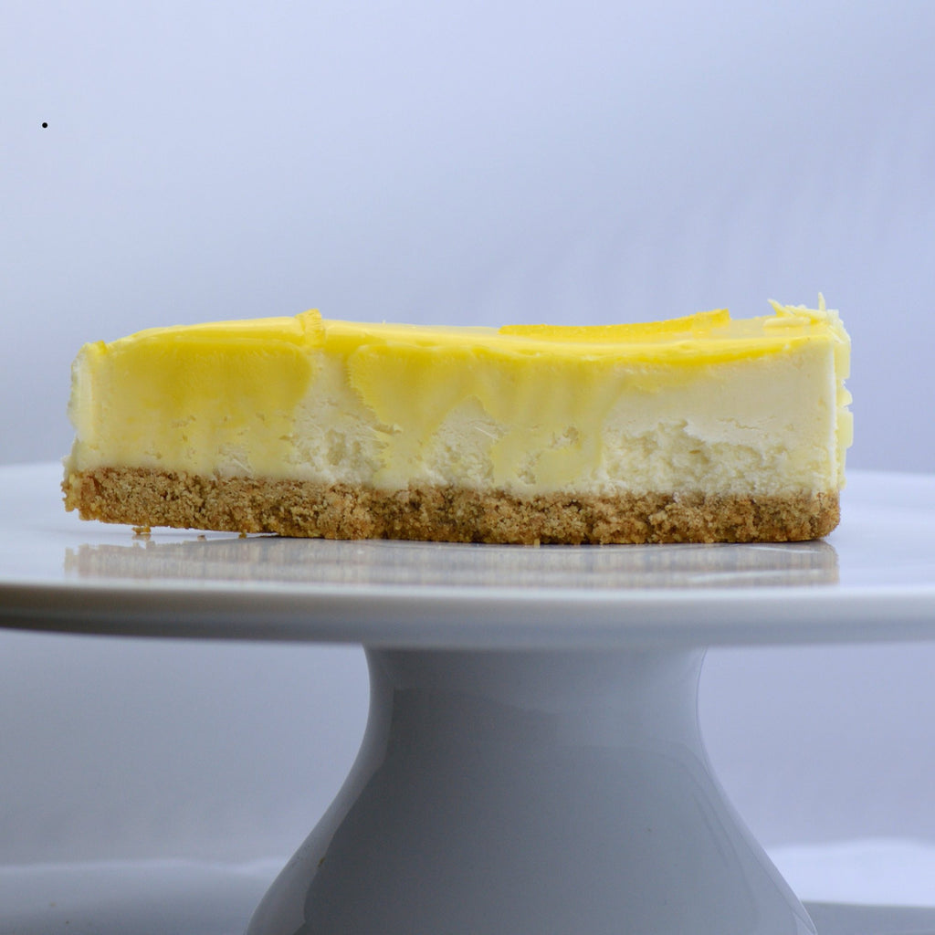 Lovable Lemon Cheesecake {V}