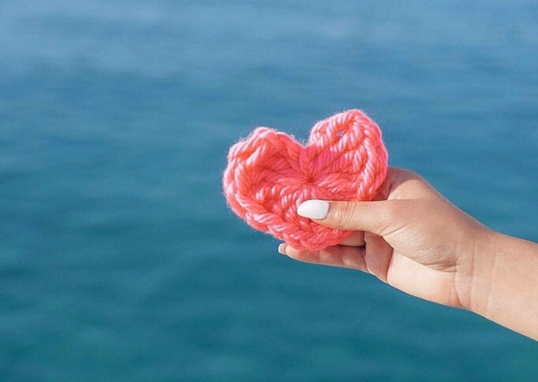 Crochet Heart by London Kaye