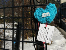 Load image into Gallery viewer, Pattern Crochet Heart by London Kaye