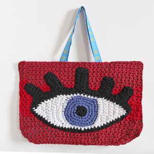 Crochet Eye Bag