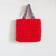 Load image into Gallery viewer, Small Crochet Eye Bag