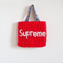 Load image into Gallery viewer, Small Crochet Supreme Bag