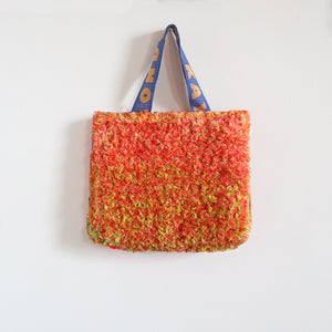 Small Fuzzy Crochet Bag