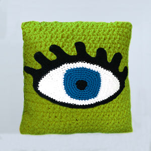 Pillow Crochet Eye