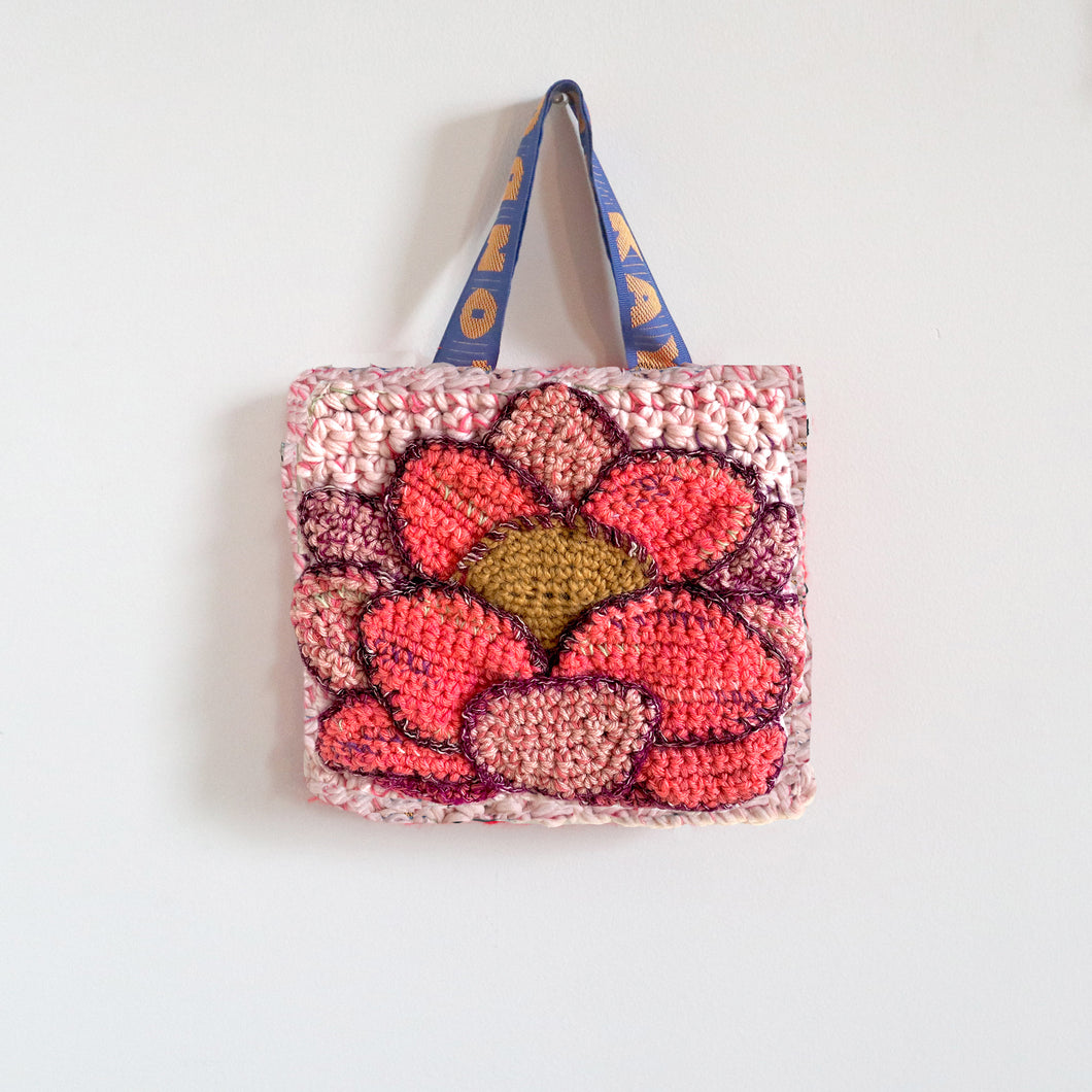 Small Flower Crochet Bag