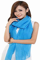CJ Apparel Large Size Fashion Voile Design Shawl Seconds Scarf Wrap Stole Throw Pashmina Face Cover Protection NEW