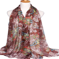 CJ Apparel Multi Colour Altai Design Voile Scarf Shawl Seconds Wrap Pashmina Face Cover Protection NEW
