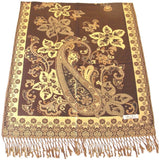 CJ Apparel Azad Design 2 Ply Reversible Shawl Seconds Scarf Wrap Stole Throw Pashmina Face Cover Protection NEW