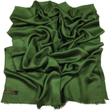 Solid Colour Design Nepalese Fringe Shawl Scarf Wrap Stole Throw Pashmina Face Cover Protection CJ Apparel NEW