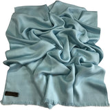 CJ Apparel Solid Colour Design Nepalese Fringe Shawl Seconds Scarf Wrap Stole Throw Pashmina Face Cover Protection NEW