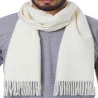 Men's Solid Colour Design Fashion Knitted Scarf Scarves Fall/Winter Face Cover Protection CJ Apparel NEW