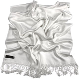 CJ Apparel Solid Colour Design Nepalese Tassels Shawl Seconds Scarf Wrap Stole Throw Pashmina Face Cover Protection NEW