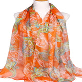 Multi Colour Altai Design Voile Scarf Shawl Wrap Stole Throw Pashmina Face Cover Protection CJ Apparel NEW