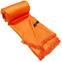 CJ Apparel Solid Colour Design Fringe Shawl Seconds Scarf Wrap Stole Throw Pashmina Face Cover Protection NEW