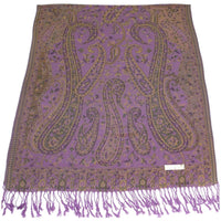 Bangong Design 2 Ply Reversible Shawl Scarf Wrap Pashmina Face Cover Protection CJ Apparel NEW