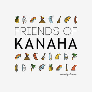 FRIENDS OF KANAHA Women's Crop Top