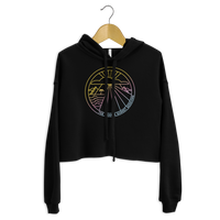 Load image into Gallery viewer, KANAHA SUNSET Women's Crop Hoodie