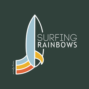 SURFING RAINBOWS Youth Tee