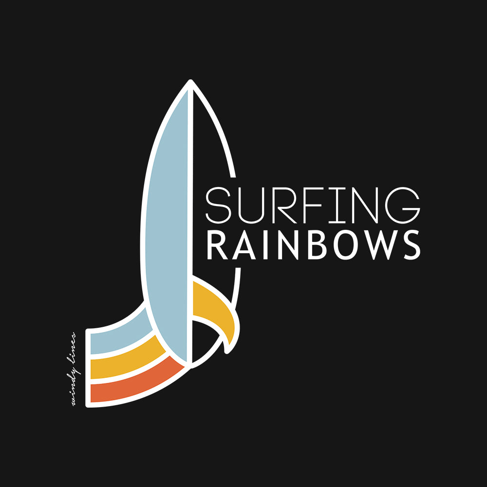 SURFING RAINBOWS Baby One Piece