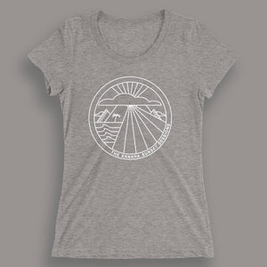 KANAHA SUNSET Women's Fitted Tee