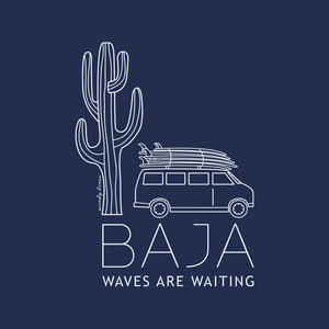 BAJA VAN Women's Fitted Tee