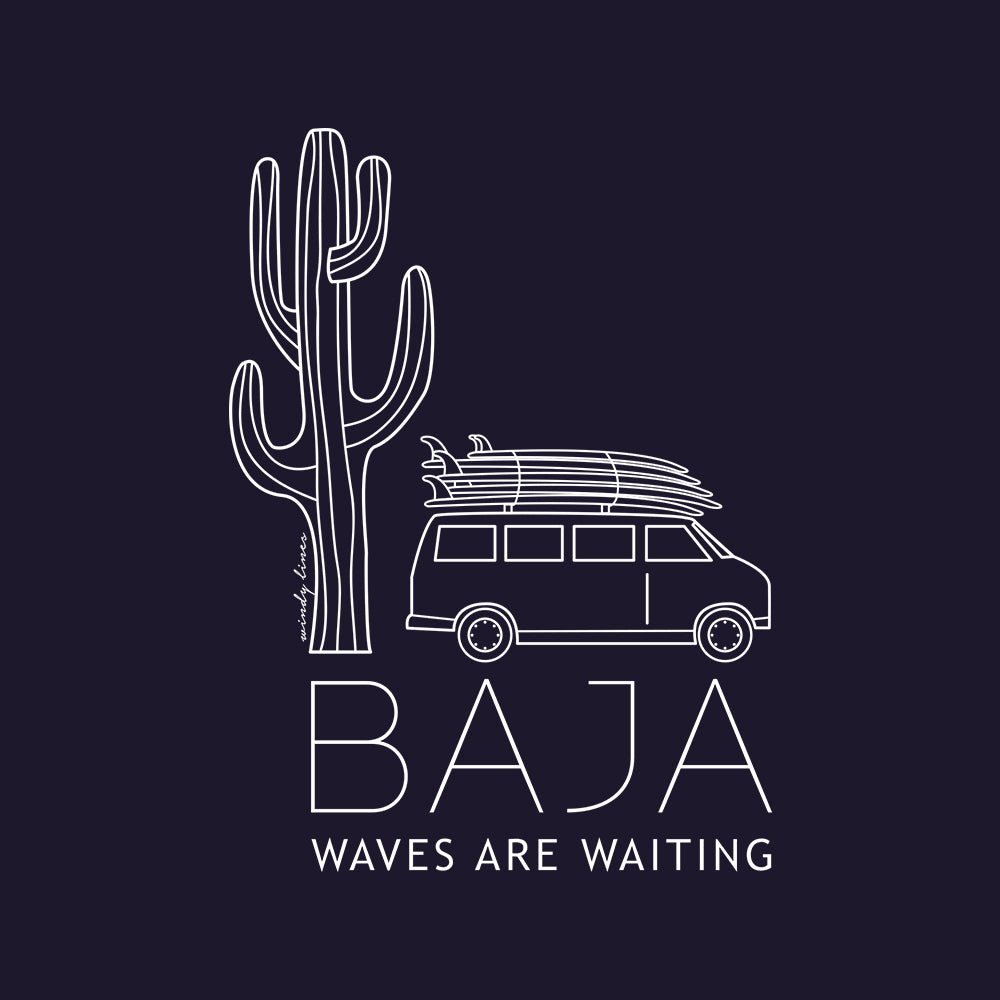 BAJA VAN Men's Long Sleeve Tee