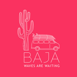 BAJA VAN Women's Scoop Tee