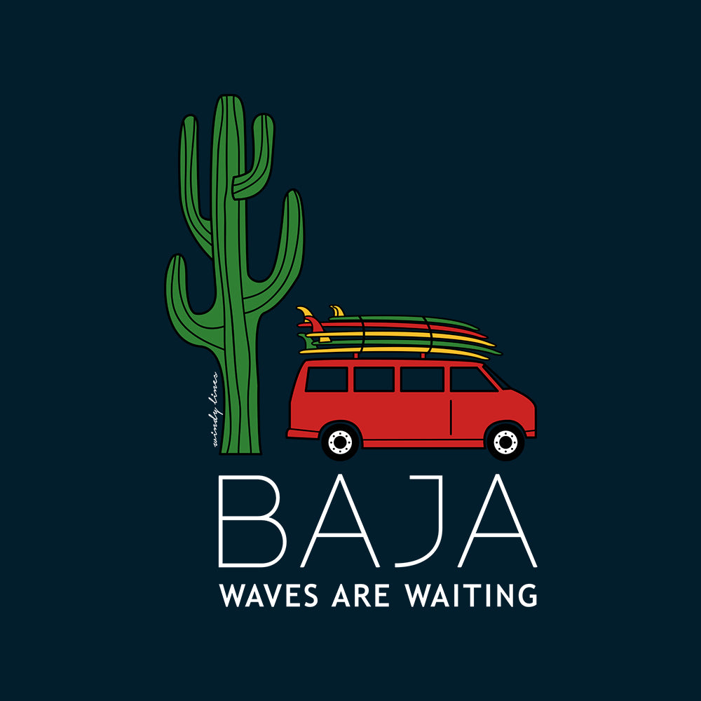 BAJA VAN Women's Tank Top
