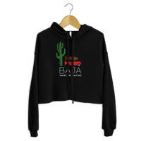 Load image into Gallery viewer, BAJA VAN Women's Crop Hoodie