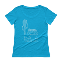 Load image into Gallery viewer, BAJA VAN Women's Scoop Tee