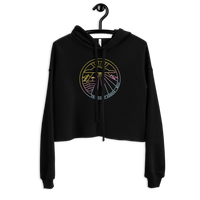 Load image into Gallery viewer, FRIENDS OF KANAHA Women's Crop Hoodie