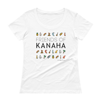 Load image into Gallery viewer, FRIENDS OF KANAHA Women's Scoop Tee