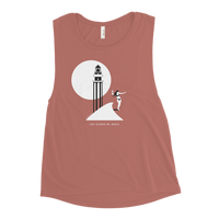 Load image into Gallery viewer, LOS CAÑOS DE MECA Women's Flowy Scoop Tank