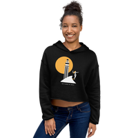 Load image into Gallery viewer, LOS CAÑOS DE MECA Women's Crop Hoodie